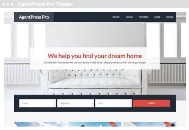 Meij webdesigner Delft agentpress pro them