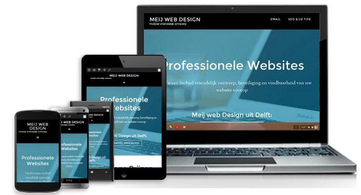 responsief ontwerp bij Meij web Design