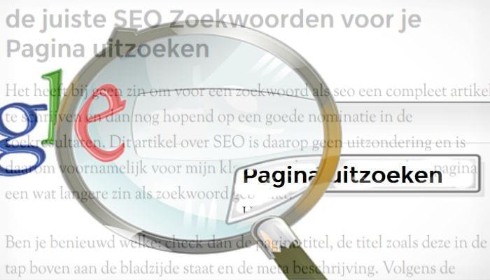Pagina SEO, de simpele SEO voor ieder Nieuw Bericht