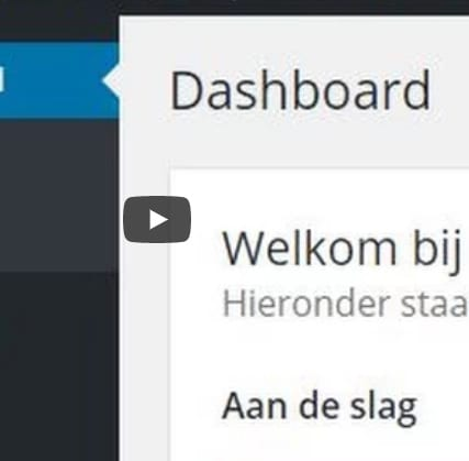 WordPress Dashboard – cursus deel 3