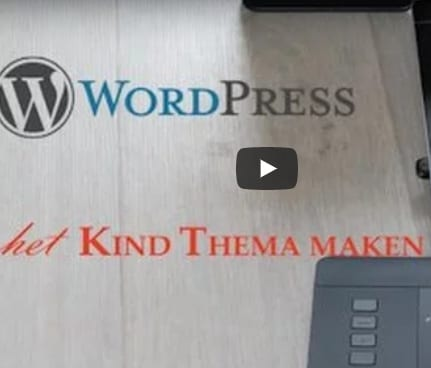 WordPress Kind Thema maken