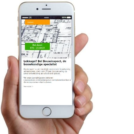 belknop op je website laten maken in Delft