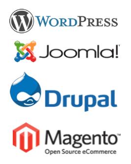 verschillende soorten software voor websites