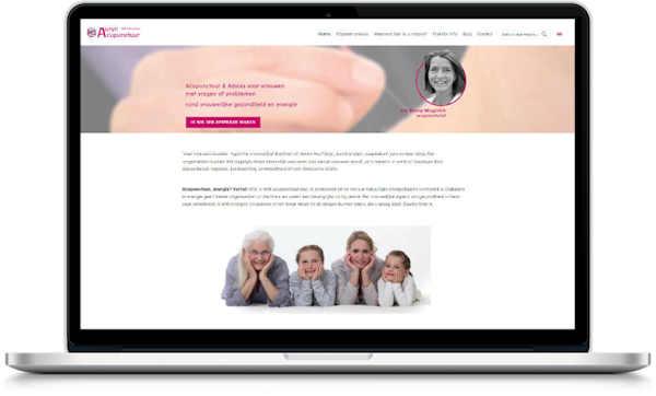 website offerte voor acupunturist