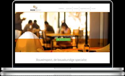 Meij website ontwerpen in Delft de 1pagina website