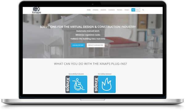 website offerte voor software company