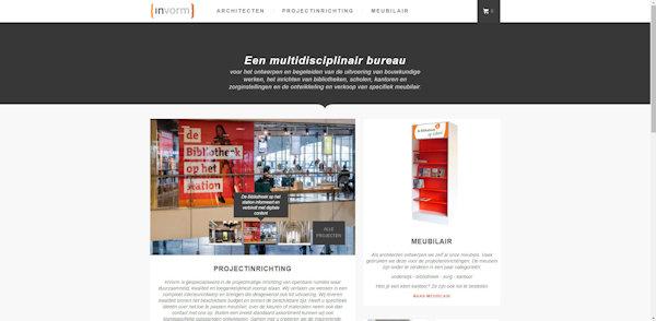 website invorm aangepast door meij webdesign