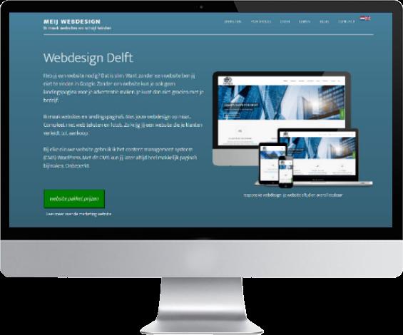 nieuwe wordpress website laten maken op computer
