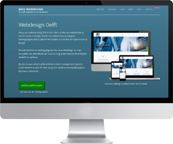 internetbureau Delft maakt responsive wordpress websites