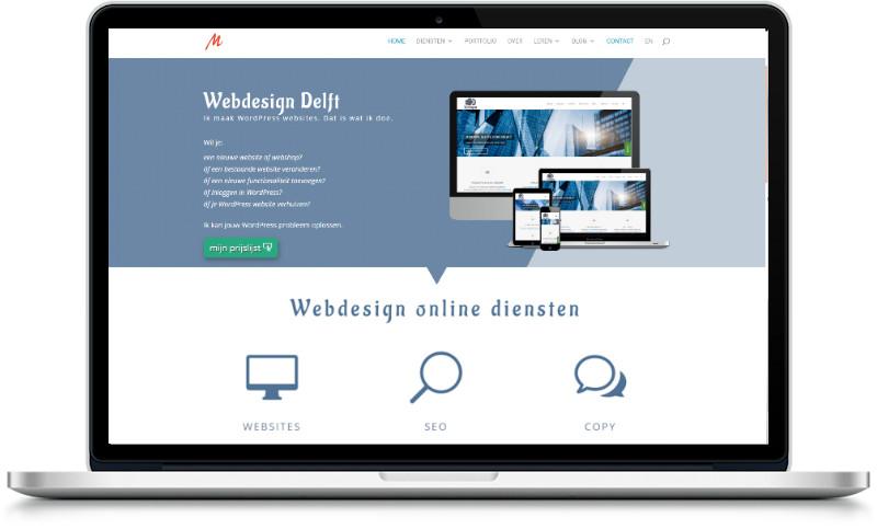 website laten maken delft door meijwebdesign