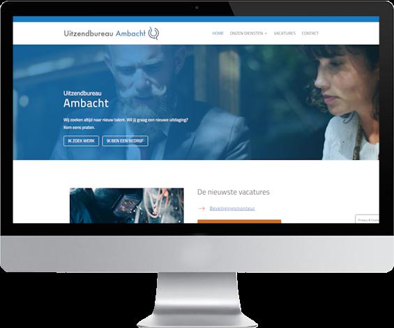portfolio webdesigner GIlles :uzb-ambacht.nl